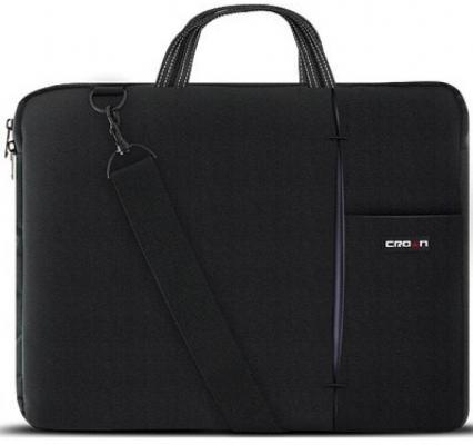 """все цены на Сумка для ноутбука 15.6"""" Crown CMB-436 синтетика черный"""