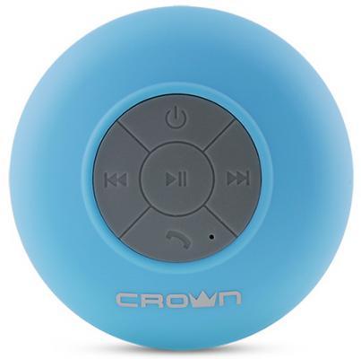 Портативная акустика Crown CMBS-301 голубой CM000001355