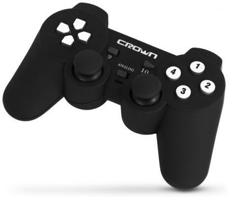 Геймпад Crown CMG-700 черный USB геймпад nintendo switch pro controller