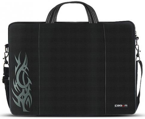 Сумка для ноутбука 15.6 Crown CMB-437 синтетика черный сумка для ноутбука 17 crown cmb 558 синтетика черный
