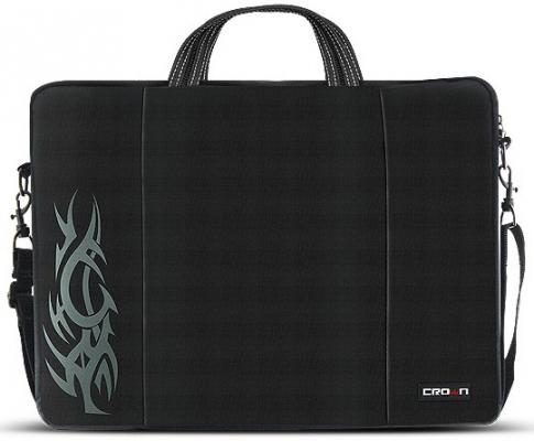 "Сумка для ноутбука 15.6"" Crown CMB-437 синтетика черный"