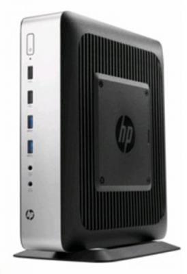 Тонкий клиент HP t730-RX-427BB 4Gb 16 Gb Flash AMD Graphics HP ThinPro серебристый черный P3S24AA P1G79EA
