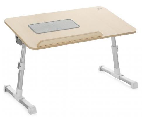 """Подставка для ноутбука 17"""" Storm STM Laptop Cooling Table NT5FA 520x235x300mm USB 1500g бежевый"""