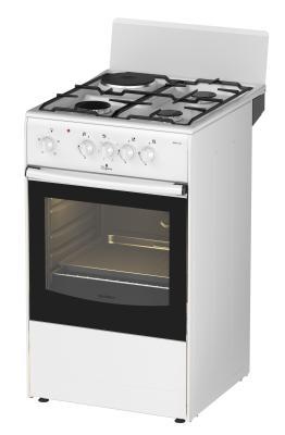 Комбинированная плита Darina 1A KM341 321W белый