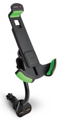 Автомобильное зарядное устройство Crown CMDC-IP5-032 2х USB 1A черный