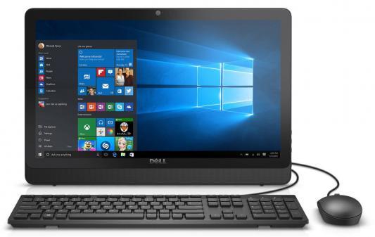 "Моноблок 20"" DELL Inspiron 3052 1600 x 900 Intel Celeron-N3700 2Gb 500Gb Intel HD Graphics Windows 10 черный 3052-8491"