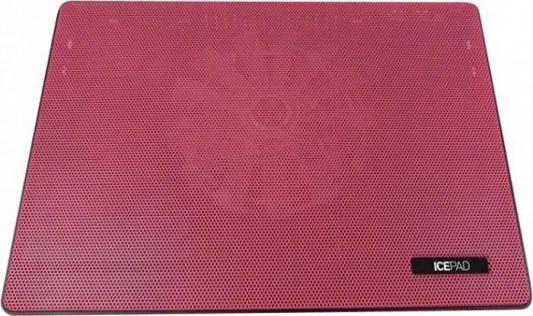 Подставка для ноутбука 15 Storm STM Laptop Cooling IP5 160x160  2xUSB красный подставка для ноутбука stm laptop cooling ip5 blue