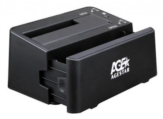Док станция для AgeStar 3UBT3-6G черная 3ubt3