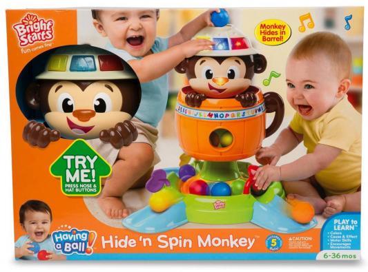 Развивающая игрушка Обезьянка в бочке playskool развивающая игрушка озорная обезьянка