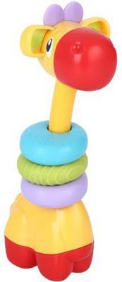 Игрушка-прорезыватель Bright Starts «Веселый жираф» разноцветный с 3 месяцев обучающая 10222 zhorya обучающая игрушка веселый телефончик цвет салатовый