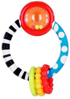Игрушка-прорезыватель Bright Starts Колечко разноцветный с 3 месяцев обучающая 10223 прорезыватель bright starts полосатое колечко цветок