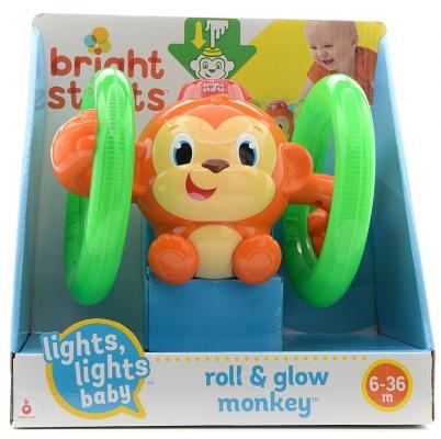 Развивающая игрушка Bright Starts Обезьянка на кольцах развивающая игрушка bright starts развивающая игрушка обезьянка на кольцах