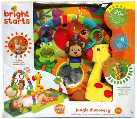 Купить Развивающий коврик «Джунгли», Bright Starts, Развивающие коврики и дуги