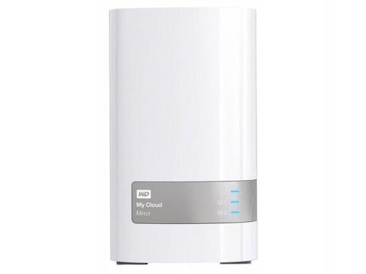 Сетевое хранилище WD My Cloud Mirror NAS 2xHDD 6Tb WDBWVZ0060JWT-EESN