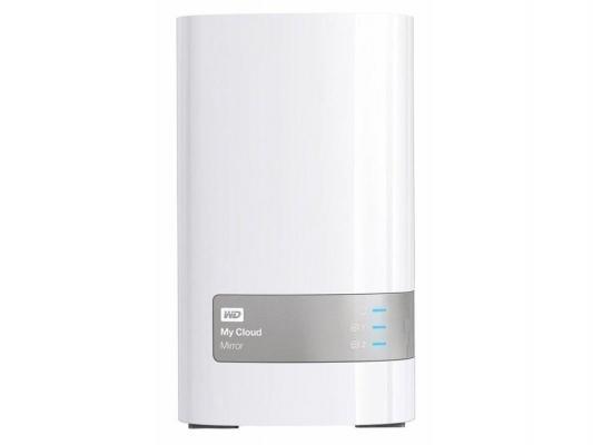 Сетевое хранилище WD My Cloud Mirror NAS 2xHDD 12Tb WDBWVZ0120JWT-EESN