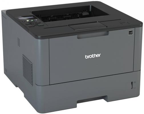 Принтер Brother HL-L5200DW ч/б A4 40ppm 1200x1200dpi Duplex Ethernet WiFi USB Duplex принтер kyocera ecosys p2040dw ч б а4 40ppm с дуплексом и lan wifi