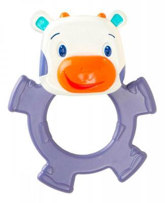 Купить Игрушка-прорезыватель Bright Starts «Коровка» фиолетовый с 3 месяцев, силикон, унисекс, Прорезыватели