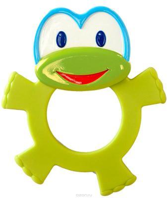 Игрушка-прорезыватель Bright Starts «Лягушонок» зелёный с 3 месяцев bright starts прорезыватель лягушонок 10220 2