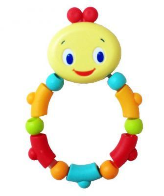 Игрушка-прорезыватель Bright Starts «Гусеничка» разноцветный с 3 месяцев прорезыватель bright starts динозаврик желтый 52029 2