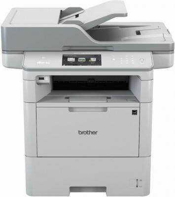 цена на МФУ Brother MFC-L6800DW ч/б A4 46ppm 1200x1200dpi WiFi Ethernet USB серый MFCL6800DWR1