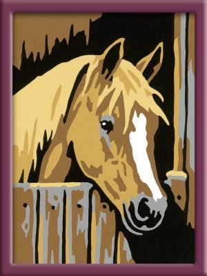 Раскраска по номерам Ravensburger «Лошадь в стойле» от 9 лет
