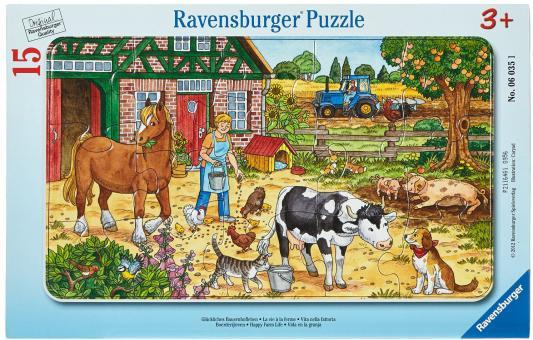 Пазл Ravensburger Жизнь на ферме 6035 15 элементов на ферме