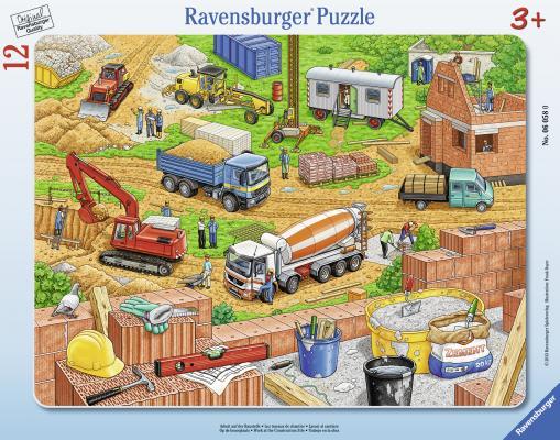 Пазл Ravensburger Городская стройка 12 элементов 06058
