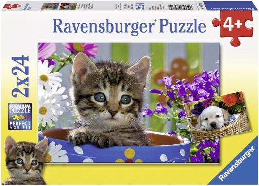 Пазл Ravensburger Милые друзья 48 элементов 08971 ravensburger пазл 2 в 1 стройплощадка 48 деталей