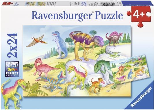 Пазл Ravensburger Красочные динозавры 48 элементов 09118 пазл ravensburger сейшелы 1500 элементов