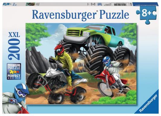Пазл Ravensburger Мощные машины 200 элементов пазл 200 элементов ravensburger мой первый питомец 12810