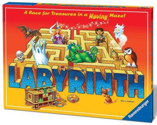 Настольная игра Ravensburger логическая Сумасшедший Лабиринт 265824