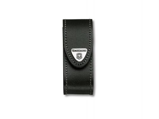 Чехол Victorinox 4.0520.3 ножей 91мм с застежкой кожа черный