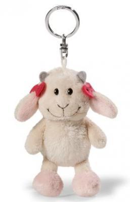 Брелок коза NICI Козочка Гретель плюш текстиль белый 10 см 37606 мягкие игрушки nici пеликан сидячий 50 см