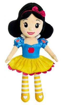 Мягкая игрушка кукла Chicco Волшебные мелодии принцесс Disney Белоснежка текстиль разноцветный 35 см