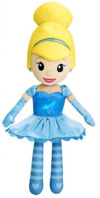 Мягкая игрушка кукла Chicco Волшебные мелодии принцесс Disney Золушка текстиль синий 35 см