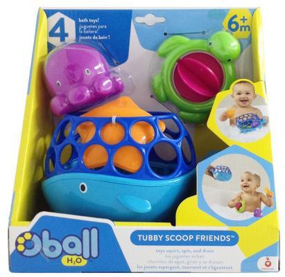 Набор игрушек для ванны Oball Морские друзья игрушки для ванны tolo toys набор ведерок квадратные