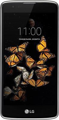"Смартфон LG K8 золотистый черный 5"" 16 Гб LTE Wi-Fi GPS K350E"
