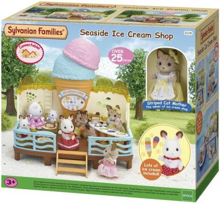 Игровой набор Sylvanian Families Кафе-мороженое 25 предметов 5228
