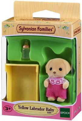 Игровой набор SYLVANIAN FAMILIES Малыш Лабрадор 3 предмета 5187