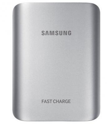 Портативное зарядное устройство Samsung EB-PG935BSRGRU 10100mAh 2A  универсальный серебристый 1xUSB