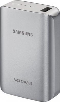 Портативное зарядное устройство Samsung EB-PG930BSRGRU 5100mAh 2A универсальный серебристый 1xUSB