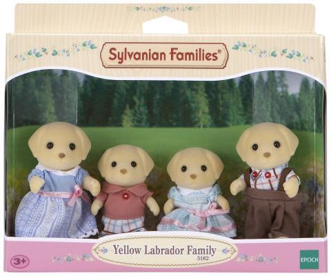 Игровой набор Sylvanian Families Семья Лабрадоров 4 предмета 5182