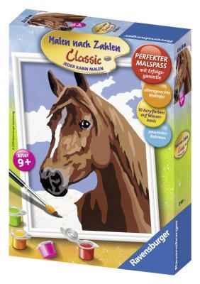 Раскраска по номерам Ravensburger «Лошадь» от 9 лет как правильно лошадь ганновер