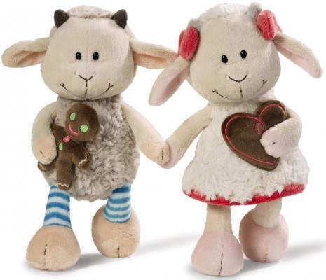 Мягкая игрушка козлята NICI Гензель и Гретель плюш 20 см 36330 мягкая игрушка овечка эми 35 см nici 36330
