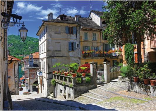 Пазл Ravensburger В Пьемонте, Италия 1000 элементов пазл ravensburger озеро эйб 1000 элементов