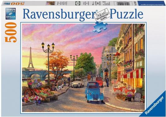 Пазл Ravensburger Вечер в Париже 500 элементов 14505 ravensburger пазл черно белый париж