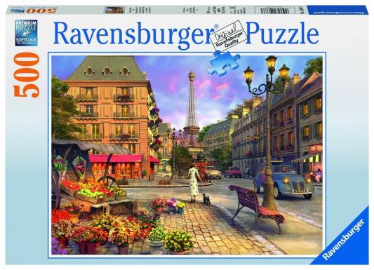 Пазл Ravensburger Вечерняя прогулка 500 элементов пазл ravensburger пазл ravensburger три лошади 500 элементов 145669 500 элементов