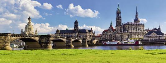 Пазл Ravensburger Вид Каналетто, Дрезден 1000 элементов пазл 73 5 x 48 8 1000 элементов printio железный человек