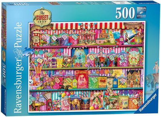 Пазл Ravensburger Кондитерский магазин 500 элементов 14653 пазл ravensburger пазл ravensburger три лошади 500 элементов 145669 500 элементов