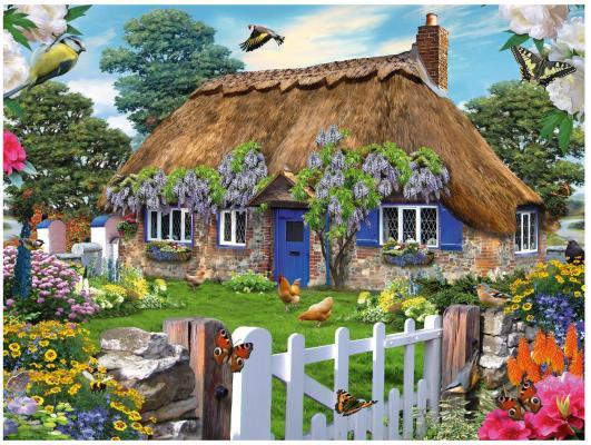 Пазл Ravensburger Коттедж в Англии 1500 элементов хочу коттедж в уфе фото